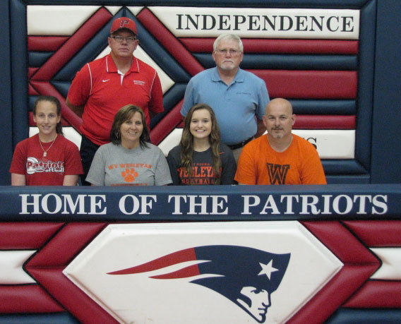 Emily Ward Signed Her Letter of Intent on April 26, 2017 to Attend and Play Softball at West Virginia Wesleyan College