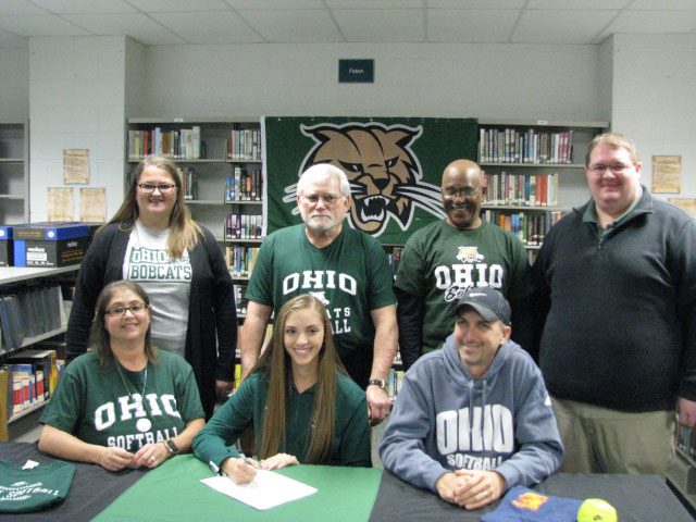 Holly Brehm Signed Her Letter of Intent on November 14, 2018 to Attend Ohio University for 2019-2020