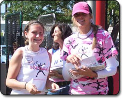 Jennie Finch Softball Camp at Radford University
