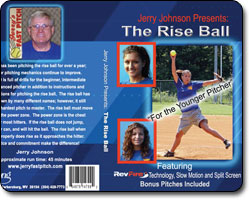 The Rise Ball 'For the Younger Pitcher'